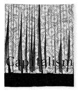 Secrets Behind The Veil Of Crony Capitalism Fleece Blanket