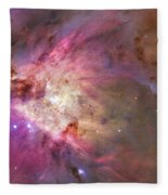 Secrets Of Orion Fleece Blanket