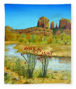Sedona Arizona Fleece Blanket