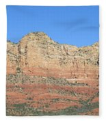 Sedona  Arizona  Mountain  Four Fleece Blanket