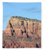 Sedona  Arizona  Mountain  Three Fleece Blanket