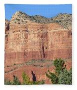 Sedona  Arizona  Mountain  Two Fleece Blanket