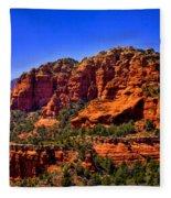 Sedona Rock Formations IIi Fleece Blanket