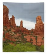 Sedona Sandstone Fleece Blanket