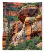 Sedona Stripes Fleece Blanket
