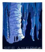 See America 1937 Fleece Blanket