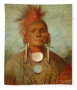See Non Ty A An Iowa Medicine Man Fleece Blanket