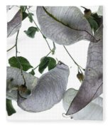 Seed Pods Fleece Blanket