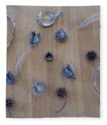 Seedpods Fleece Blanket