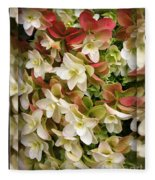 Seeing Double - Hydrangeas Fleece Blanket