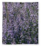 Seeing Lavender Fleece Blanket