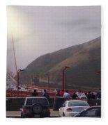 Seeing The Golden Gate Fleece Blanket