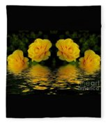 Seeing Yellow 2 Fleece Blanket