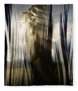 Seeking The Light Fleece Blanket