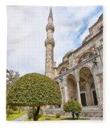 Sehzade Mosque 09 Fleece Blanket