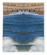 Selsey Mirrored Fleece Blanket