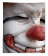 Send In The Clown Fleece Blanket