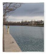 Seneca Falls Marina Fleece Blanket