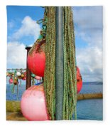 Sennen Cove Buoys Fleece Blanket