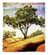 Sentinal Tree Fleece Blanket