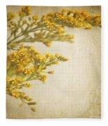 Sepia Gold Fleece Blanket