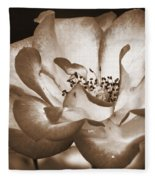 Sepia Tones Fleece Blanket