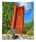 September 11th Memorial Mantua N J Fleece Blanket