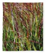 September Grasses By Jrr Fleece Blanket