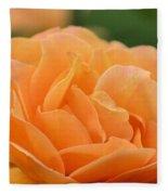 September Rose Fleece Blanket
