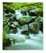 September Stream  Fleece Blanket