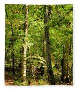 September's Woodlands Fleece Blanket