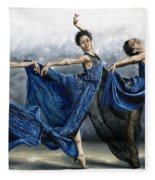 Sequential Dancer Fleece Blanket