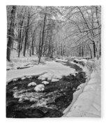 Serene Harmony Fleece Blanket