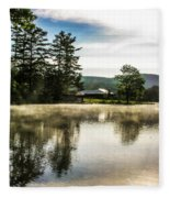 Serene Morning Fleece Blanket