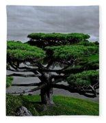 Serenity And Balance Fleece Blanket