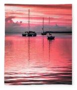 Serenity Bay Dreams Fleece Blanket