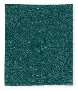 Serenity Blue Fleece Blanket