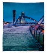 Seri Gemilang Bridge 1 Fleece Blanket