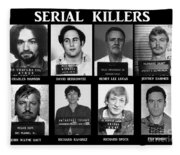 Serial Killers - Public Enemies Fleece Blanket