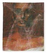 Serious Bride Mirage  Fleece Blanket