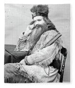 Seth Kinman (1815-1888) Fleece Blanket