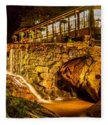Seven Falls Visitors Center Fleece Blanket
