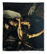 Seven Works Of Mercy Fleece Blanket