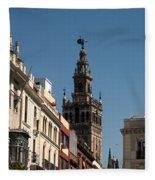 Seville - Giralda Fleece Blanket
