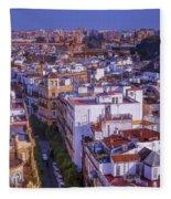 Seville Cityscape Fleece Blanket