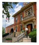 Sewickley Municipal Hall Fleece Blanket