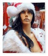 Sexy Santa Fleece Blanket