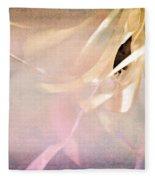 Shabby Chic Ballet I Fleece Blanket