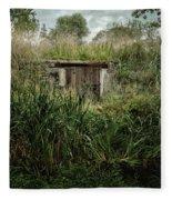 Shack In The Park Fleece Blanket