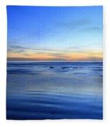 Rocks In Surf Carlsbad Fleece Blanket